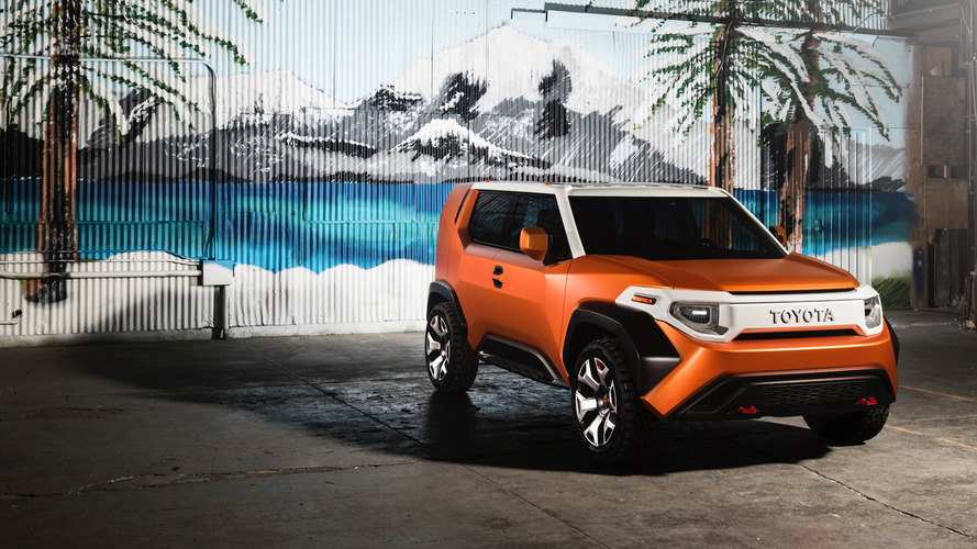 Toyota TJ Cruiser Trademark Filing Might Be For New Crossover