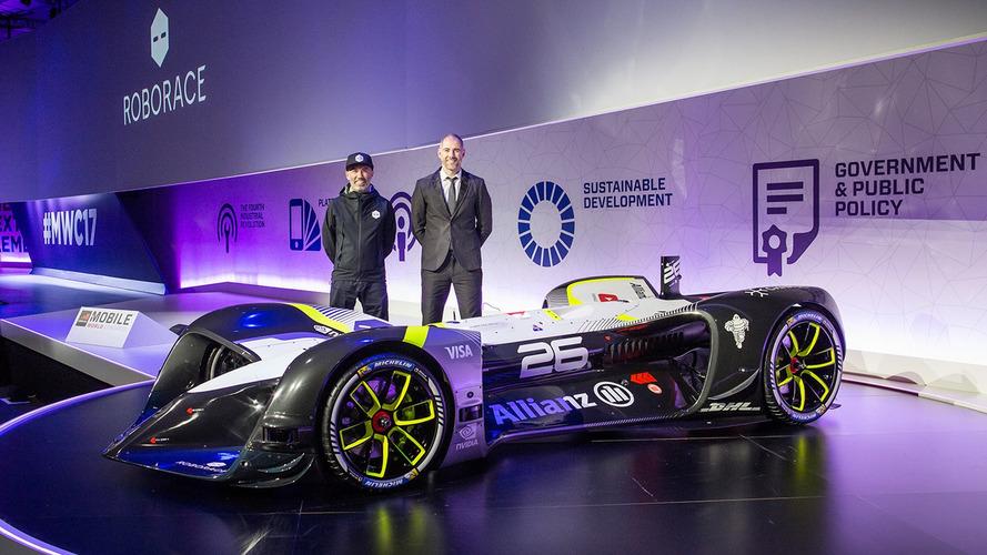 Le championnat Roborace dévoile la première voiture de course sans pilote !