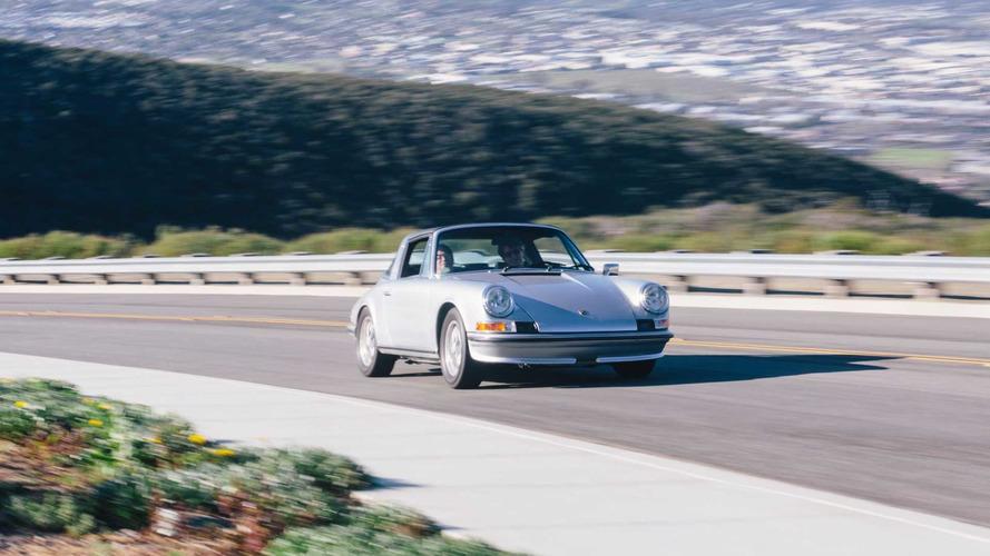 Cette Porsche 911 cache un cœur de Tesla