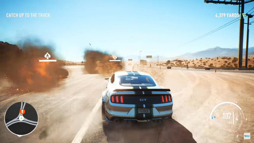 vid o un gameplay tr s explosif pour need for speed payback. Black Bedroom Furniture Sets. Home Design Ideas