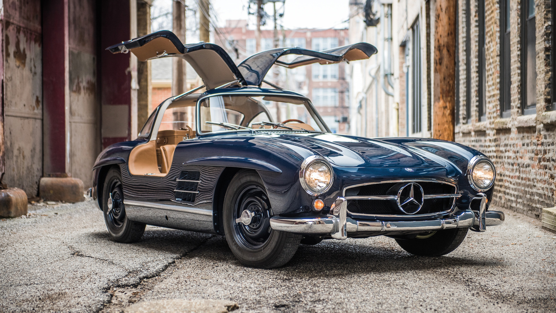 mercedes 300 sl gullwing is a beautiful way to spend  1 4m