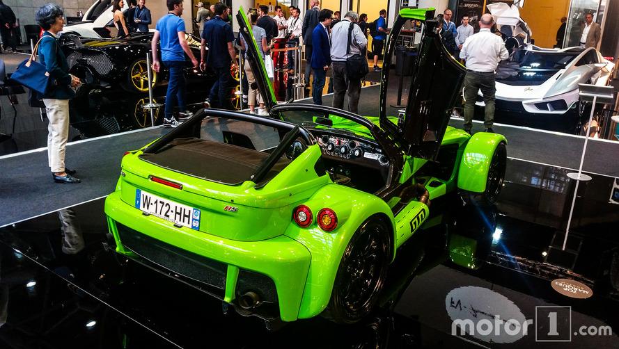 El Donkervoort D8 GTO-RS,presentado en el salón Top Marques