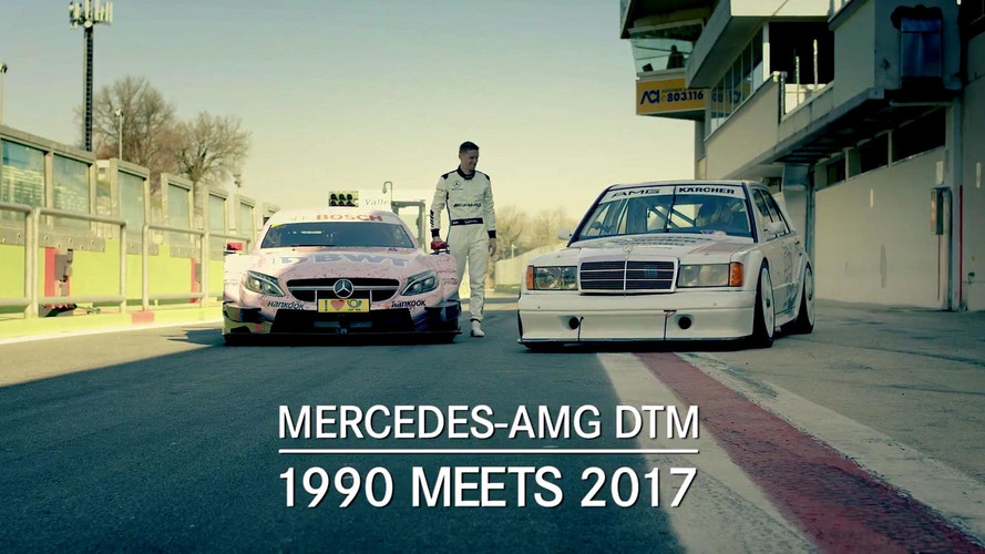 Mercedes-Benz 190E y C63 DTM