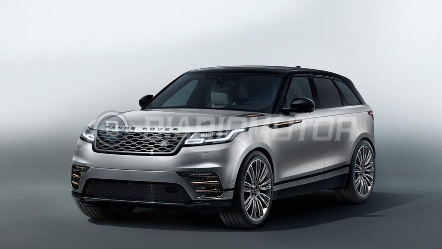 Range Rover Velar'ın fotoğrafları sızdı