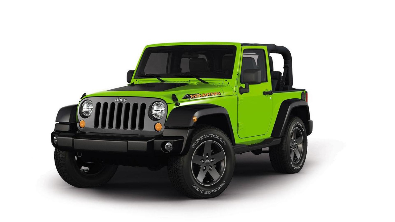 Jeep Wrangler Mountain special edition 20.2.2012