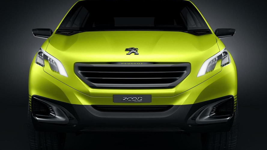 Peugeot 2008 concept officially announced