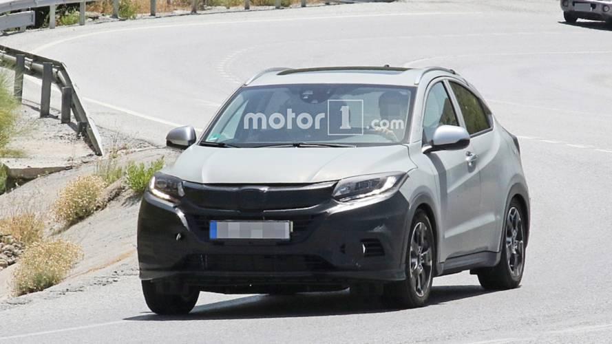 Flagra: Honda HR-V 2019 pode ganhar versão híbrida