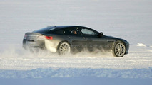 Aston Martin Rapide spied driving towards production