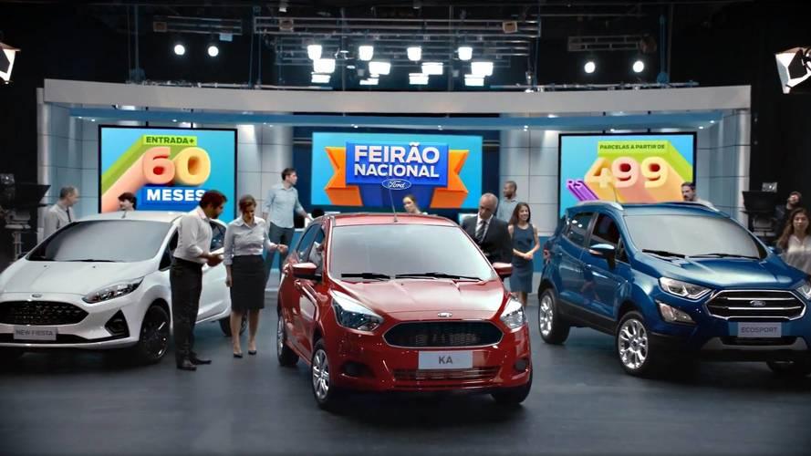Feirão da Ford oferece Ka S 1.0 por R$ 40.490 e mais descontos