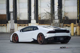 Lamborghini Huracan Looks Mean as Heck Wearing Matte Brown ADV.1 Wheels