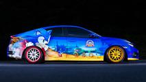 2016 Honda Civic Sonic the Hedgehog Özel Versiyonu
