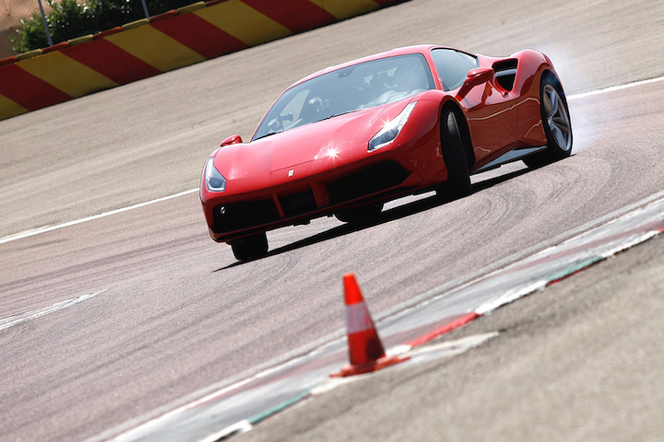 Chris Harris Wrings Out the Ferrari 488 GTB On the Track…For Science