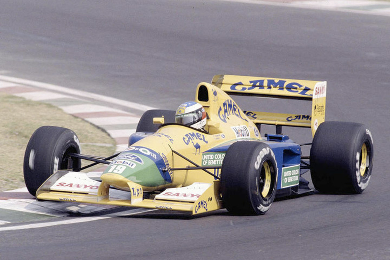 Buy Michael Schumacher's First Podium Finish F1 Car