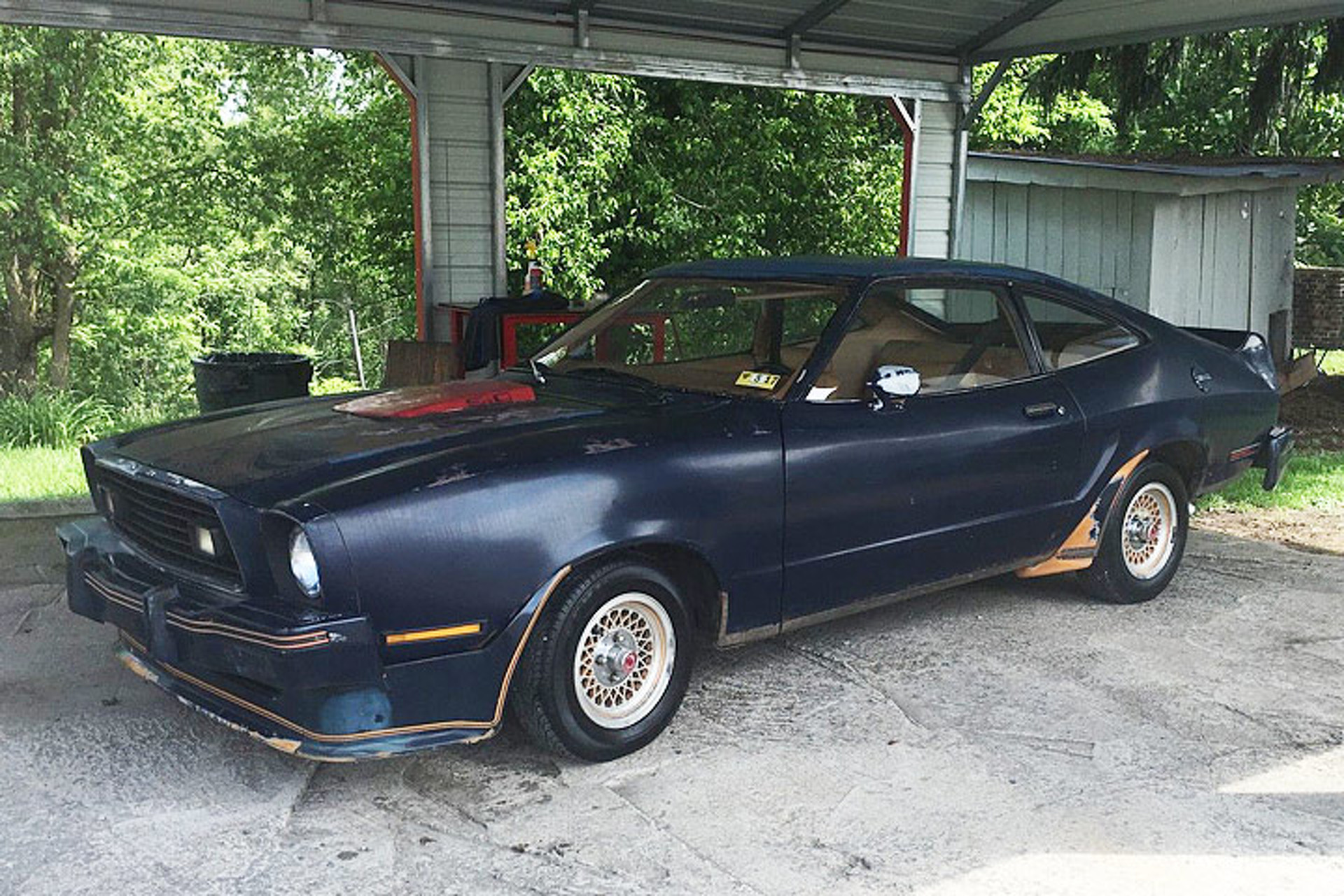 Barn Find \'78 Ford Mustang King Cobra was the Best of the Dark Days