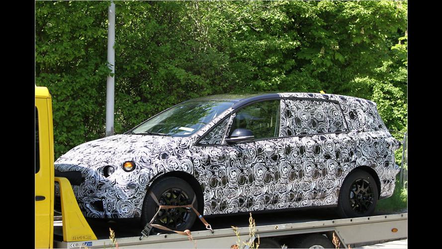 Erwischt: Mittelklasse-Van von BMW
