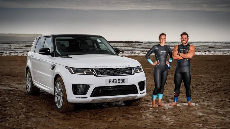 Land Rover Range Rover P400e PHEV English Channel Race