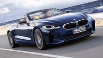 BMW 8 Serisi Coupe / Cabrio Render