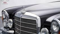 Mercedes-Benz W111 M-Coupe 5.5 Restomod