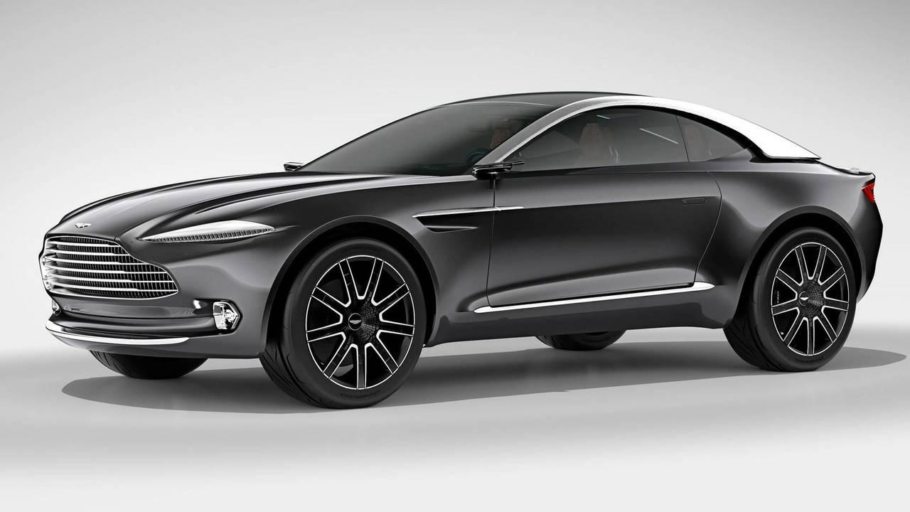 Aston Martin DBX Concept 2019