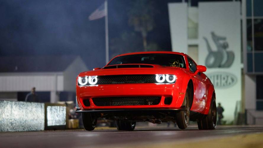 Dodge Demon Buyers Can Get Street Tires, Other After-Sale Add-Ons