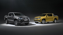 2017 VW Amarok Aventura Exclusive concept and Amarok Dark Label special edition