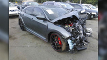 Honda Civic Type R Crash