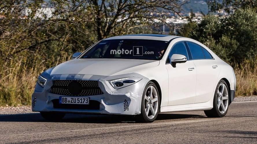 2018 Mercedes CLS lansman öncesinde son nazını yapıyor