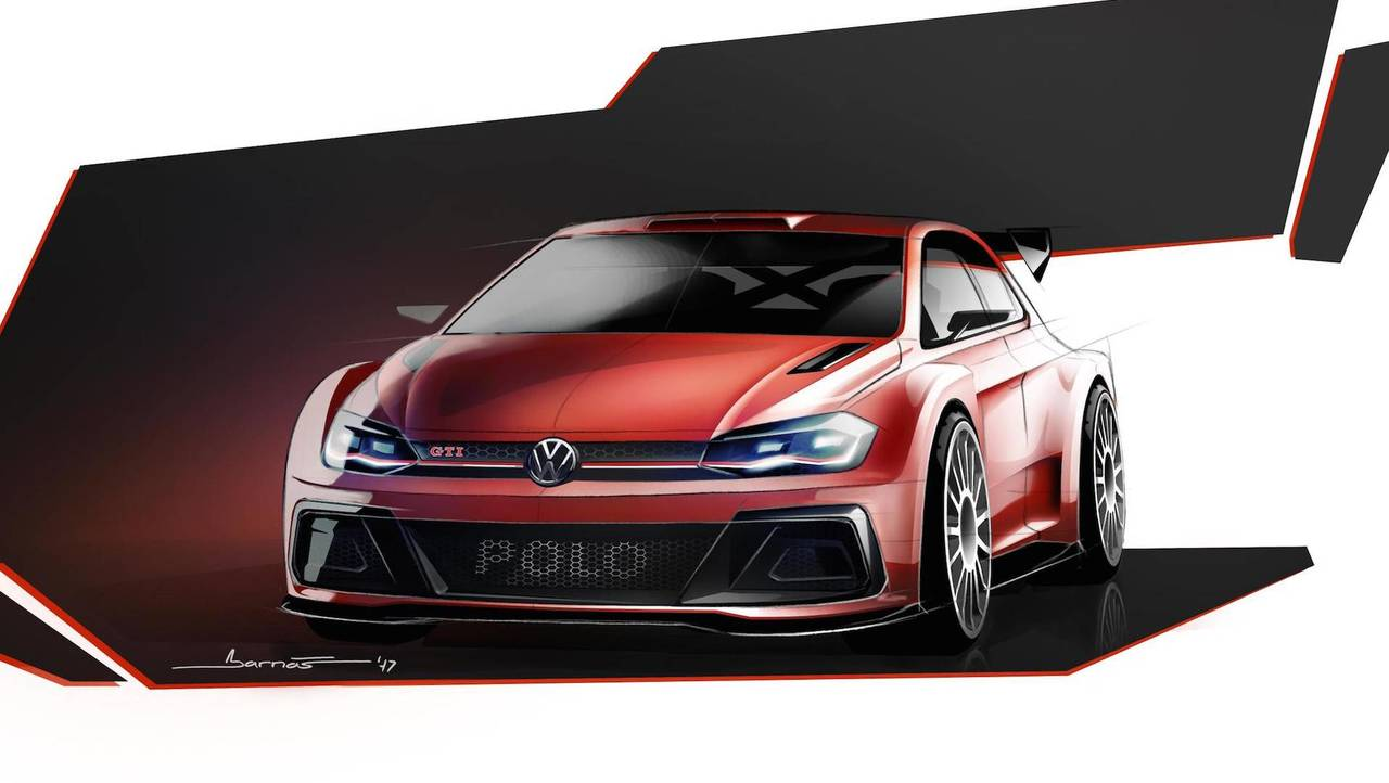 VW Polo GTI R5 Rally Car 2018