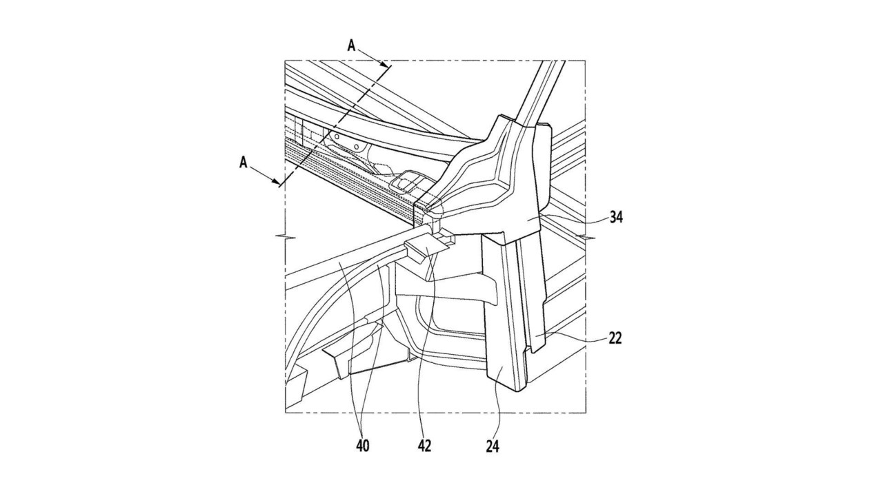 Hyundai CFRP patenti