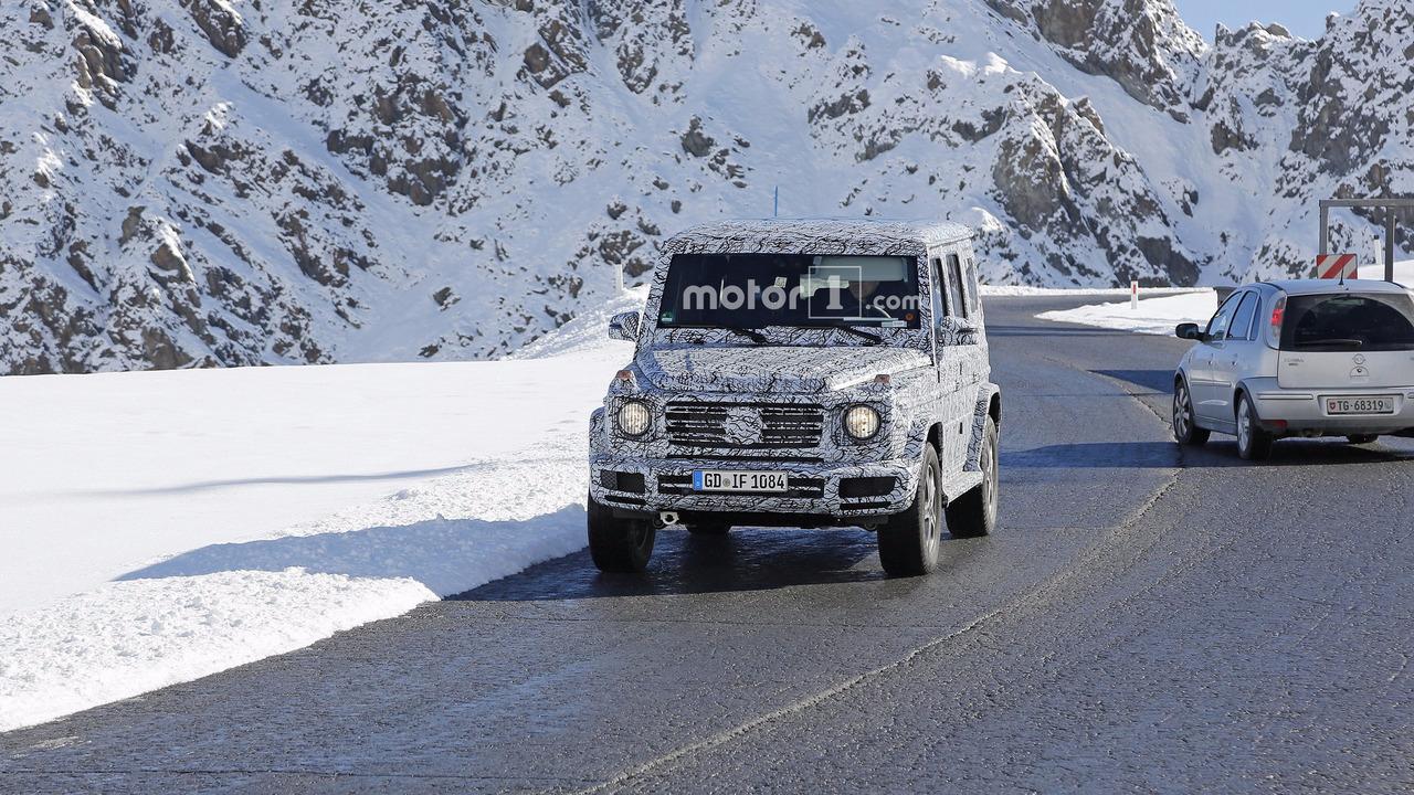 Mercedes Classe G 2018 Photos espions