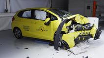 Euro NCAP Rover 100 and Honda Jazz crash test