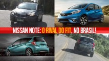 Nissan Note flagrado no Brasil é na verdade uma