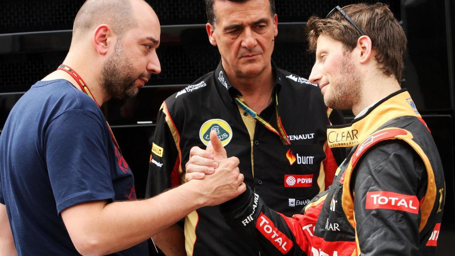 Lotus rivals want to sign Grosjean - Lopez
