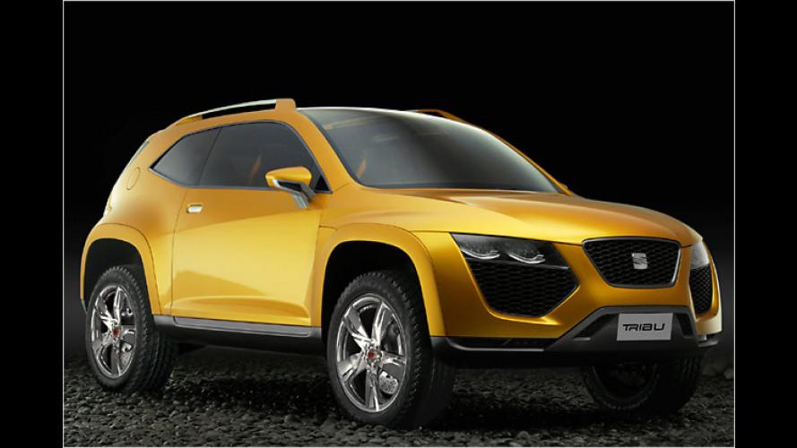 Studie Tribu: Neues Seat-Design im Lamborghini-Look