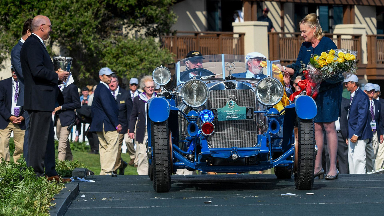 1929 Mercedes-Benz S Barker Tourer