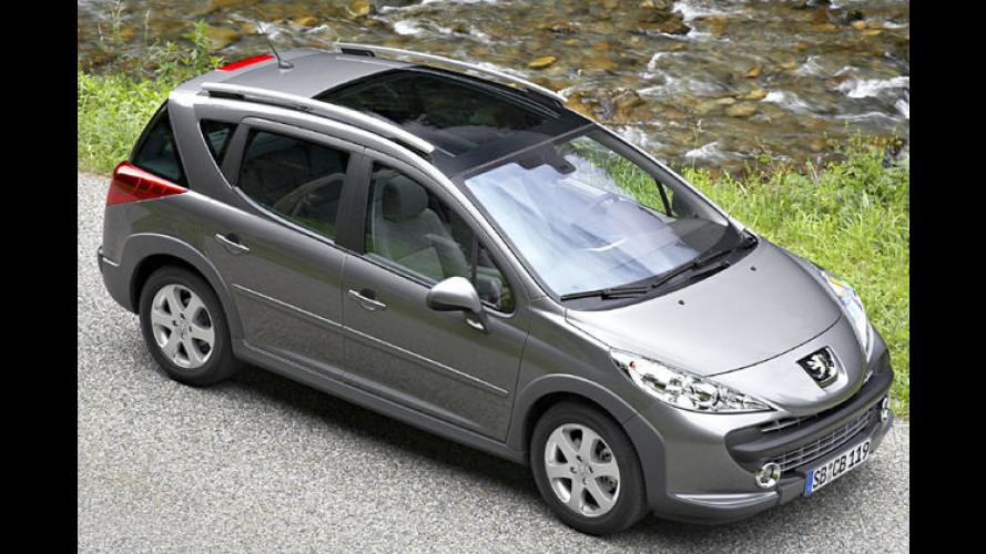 Peugeot 207 SW Escapade: Eine Prise Offroad für den Kombi