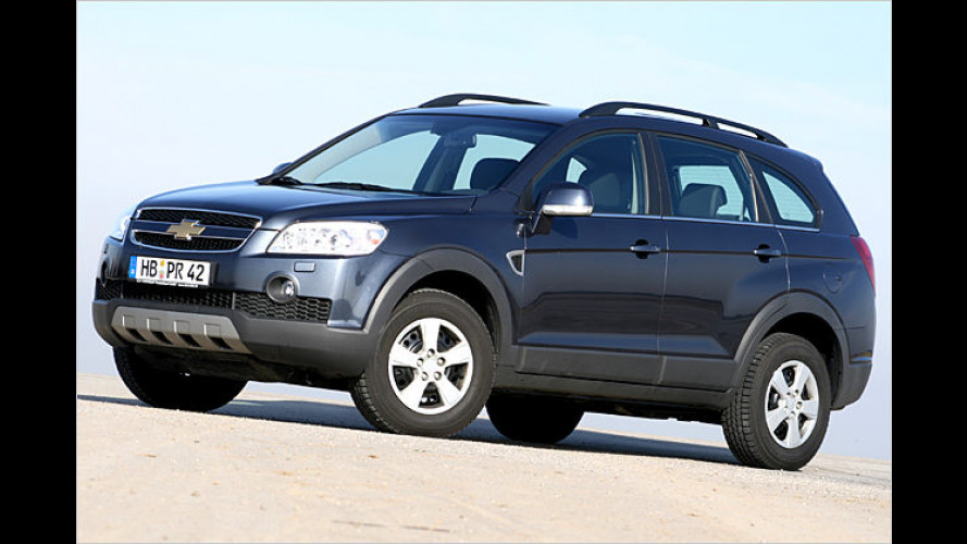 Bequeme Insel: Das Korea-SUV Chevrolet Captiva 3.2 im Test