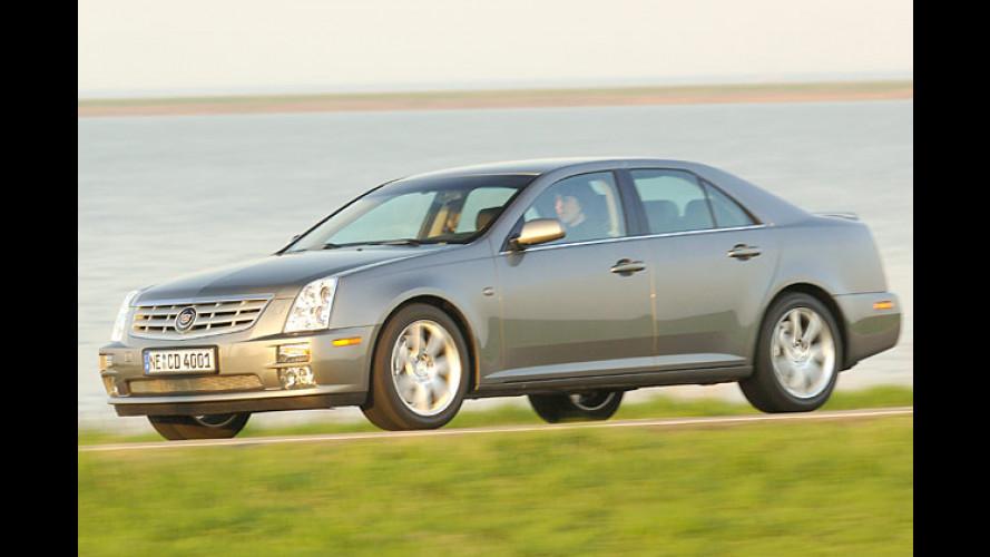 Cadillac STS 4.6 V8 im Test: Leistung und eleganter Luxus