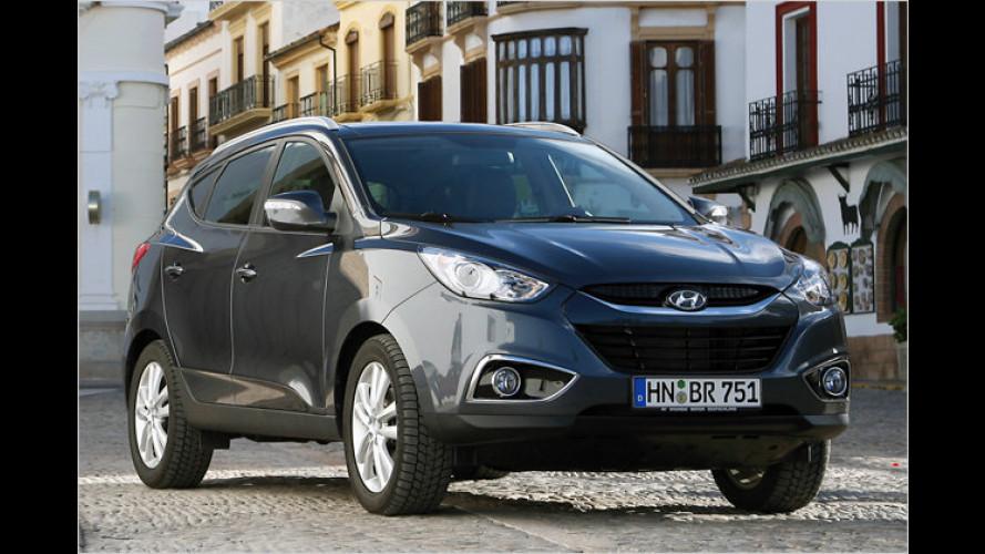 Neue Basismotoren für den Hyundai ix35