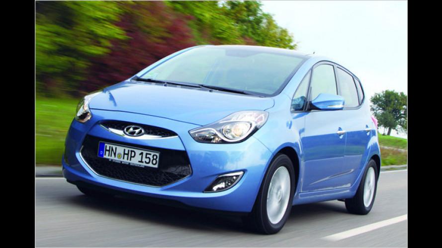 Kleines X: Der neue Hyundai ix20 im Test