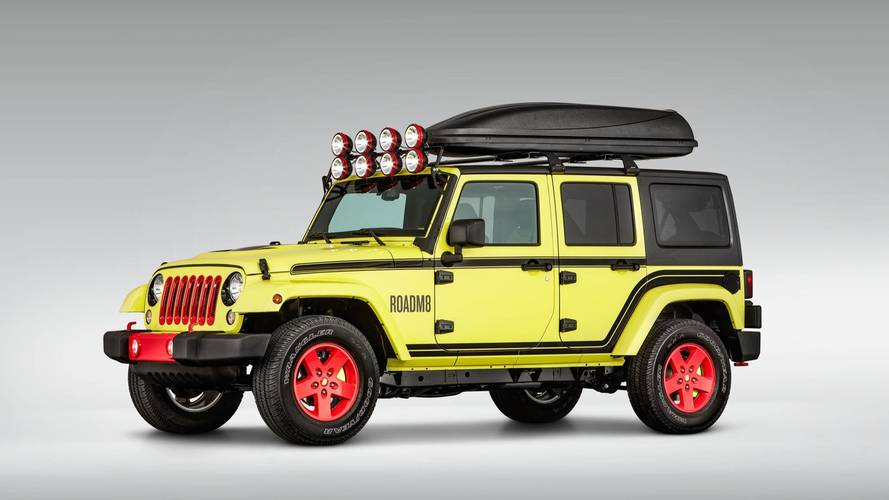 RoadM8 Jeep Wrangler Super 8 Hotels