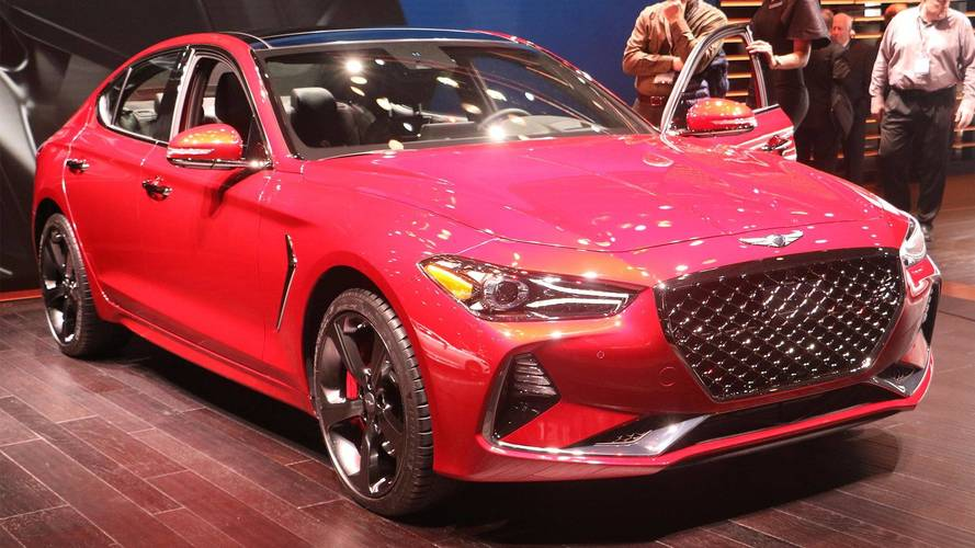 2019 Genesis G70 Arrives In New York With 6-Speed Manual