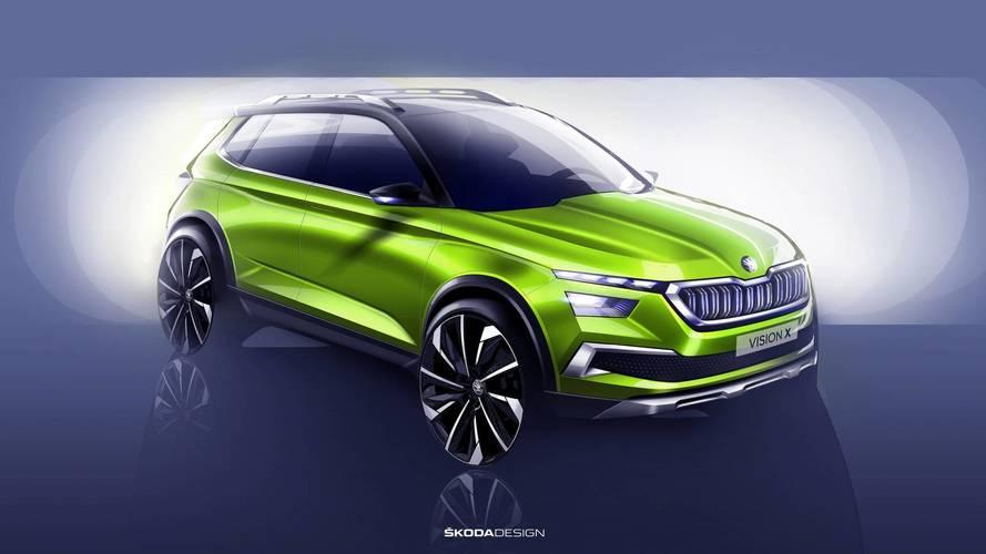 Skoda Vision X - Le futur petit SUV sera à Genève
