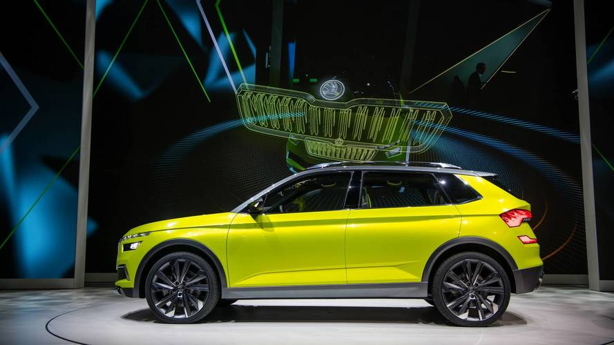 From render to reality: The Skoda Vision X in Geneva