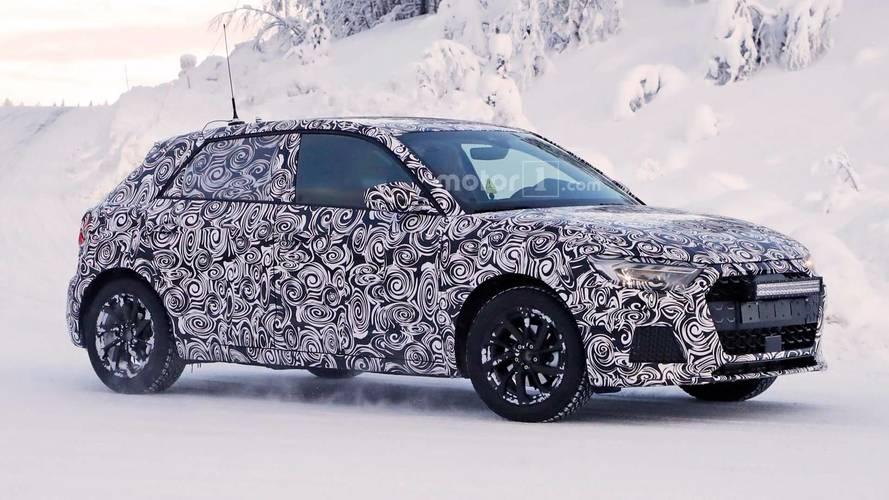 Novo Audi A1 2019 - Primo rico do VW Polo segue em testes na neve