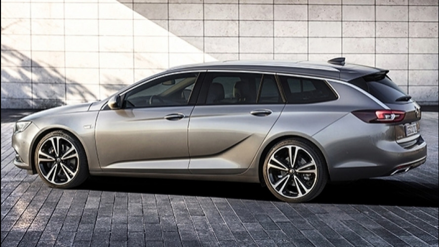 Nuova Opel Insignia Sports Tourer, la SW ambiziosa