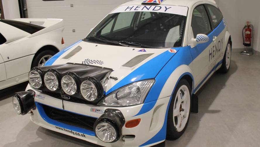 Colin McRae WRC Ford Focus for sale
