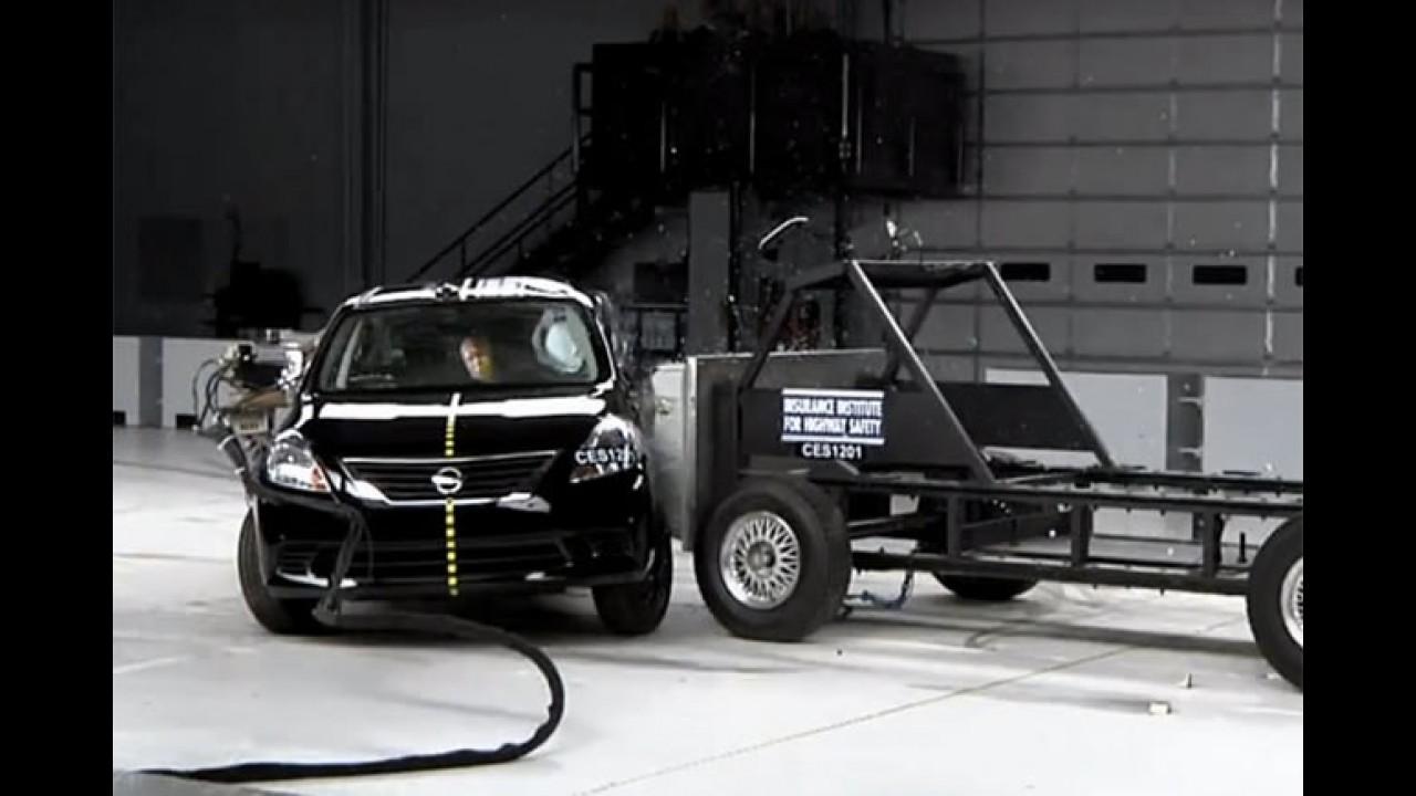 Nissan Versa recebe prêmio Top Safety nos Estados Unidos
