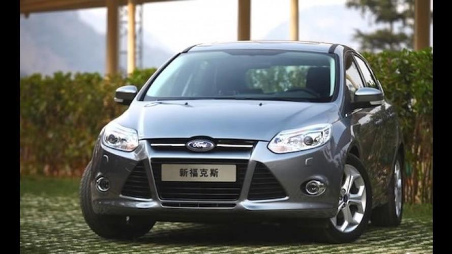 Bom de loja: Ford Focus foi o carro de passeio mais vendido da China em 2013