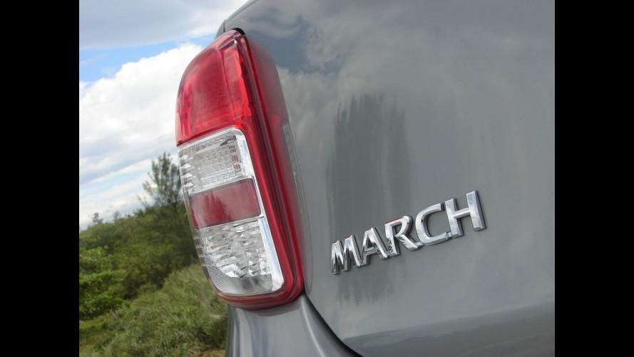 Salão do Automóvel: Nissan confirma edição especial March Rio 2016 - E o Novo Sentra?